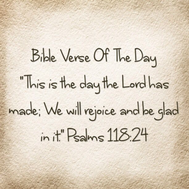 """Bible Verse Of The Day-""""I Want To Thank You Lord"""""""