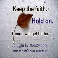 Hold On God Is Working In The Storm Lsw Ministries No One Left
