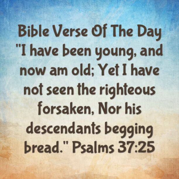 """Bible Verse Of The Day- """"We Have An Inheritance From Christ"""" 