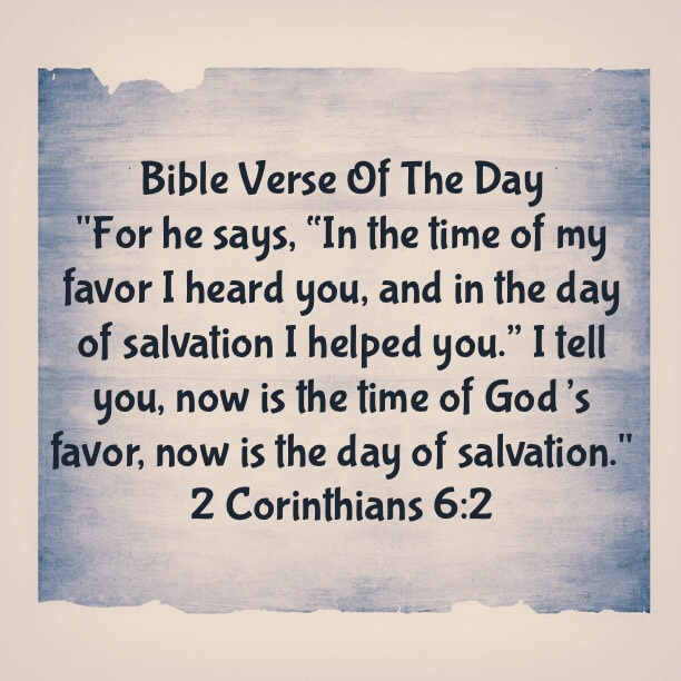 """Bible Verse Of The Day- """"What Are You Waiting For?"""" 