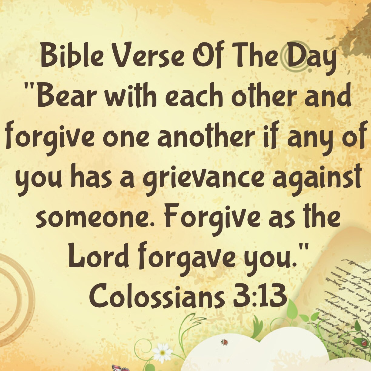 "Bible Quotes About Forgiveness Bible Verse Of The Day ""Who Haven't You Forgiving""  Lsw ."