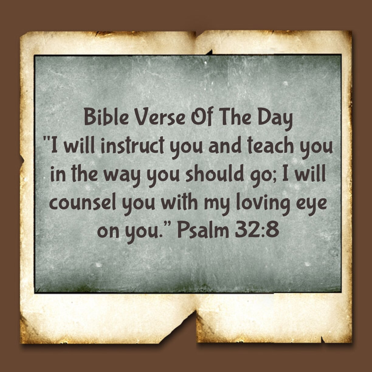 "Bible Verse Of The Day- ""Your GPS Is Always On"" 