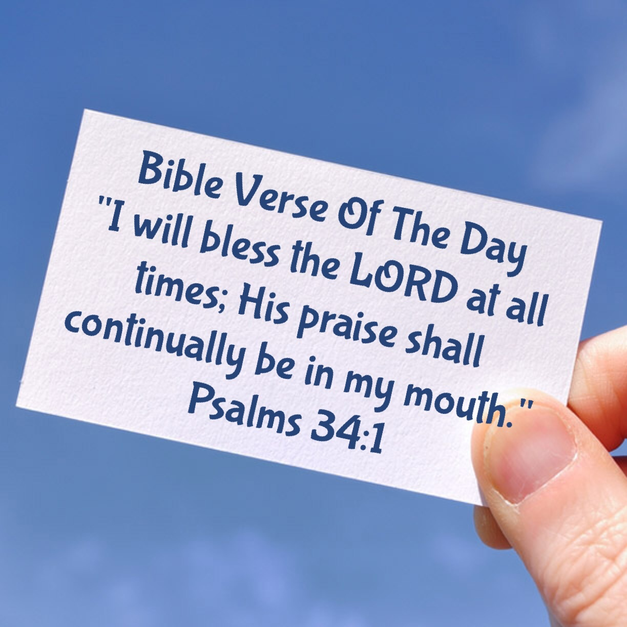 """Blessing Quotes Bible: Bible Verse Of The Day- """" Are You Counting Your Blessings"""