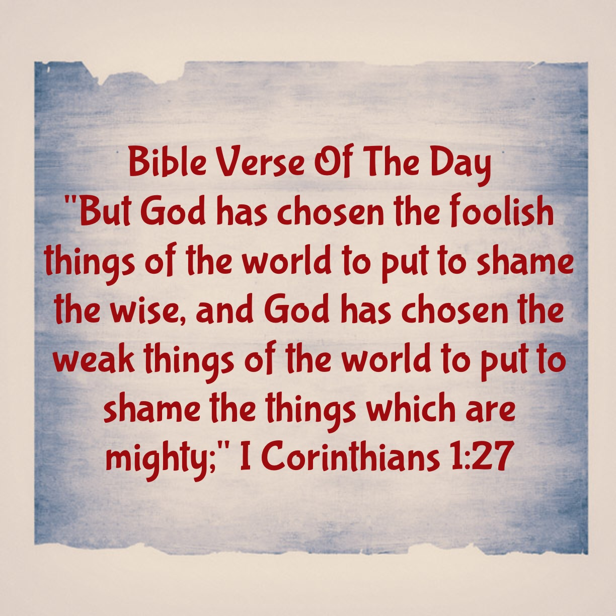 Foolishness in the bible