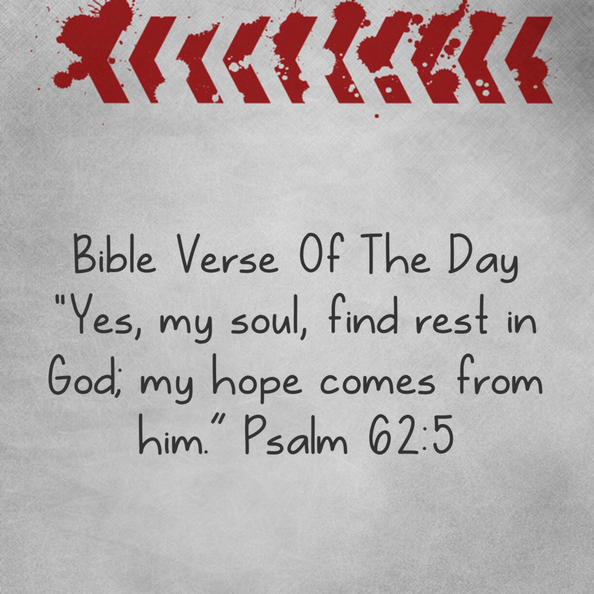 """Bible Quotes About Hope Bible Verse Of The Day """"Rest Your Hope In The Lord""""  Lsw"""