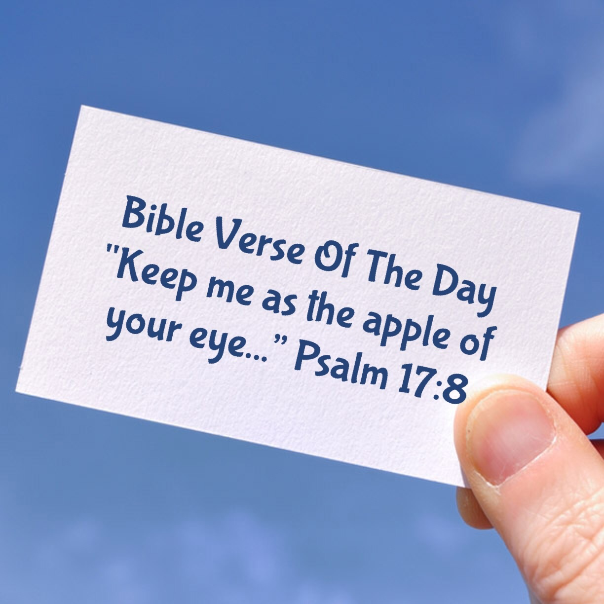 """Bible Verse Of The Day- """"God Will Never Leave You"""""""